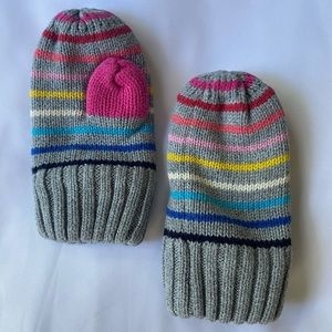 Gap Toddlers Crazy Stripe Mittens